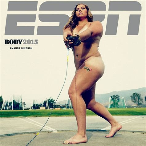 Ria Miranda Alisha Blue hammer thrower amanda bingson talks espn cover shape magazine
