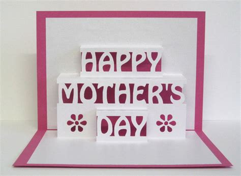 fiy mothers day pop up card template diy gifts for last minute s day shoppers