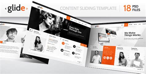 themeforest free psd download glide themeforest multipurpose psd clean theme