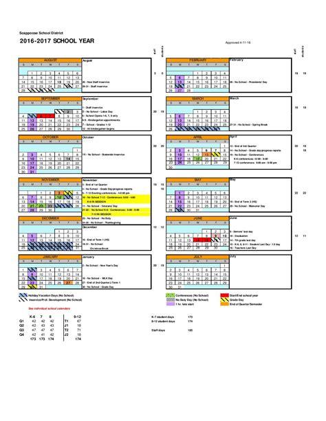 District 200 Calendar Scappoose School District Calendar Oregon Outreach