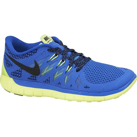 nike boys free 5 0 running shoes hyper cobalt midnight