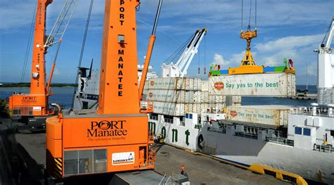 Manatee Records Port Manatee Enjoys Record Breaking Year For Volume Cargo Tons Florida Trucking