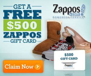 Zappos Gift Card Code - 17 best images about free gift cards on pinterest gas gift cards nike gift card and