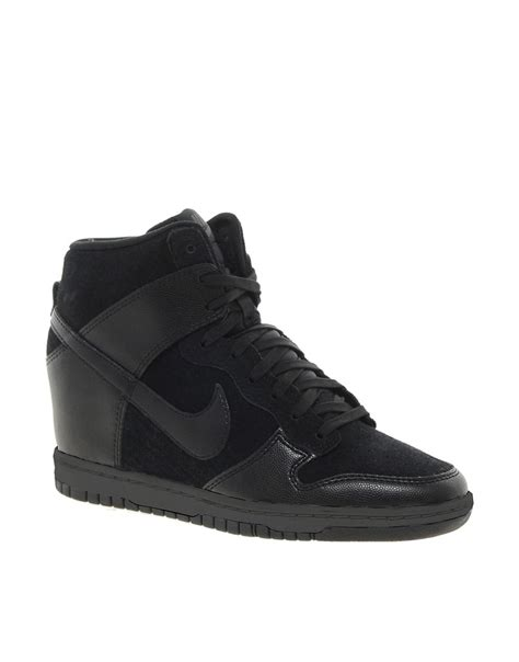 Nike Wedges Sky Dunk Colour Kode Ss6186 nike nike dunk sky high black wedge trainers at asos