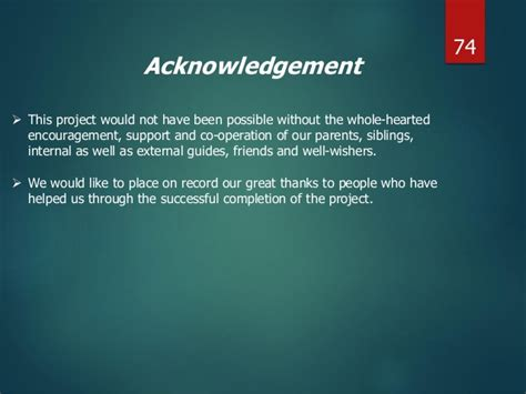 acknowledgement thesis library system time card system