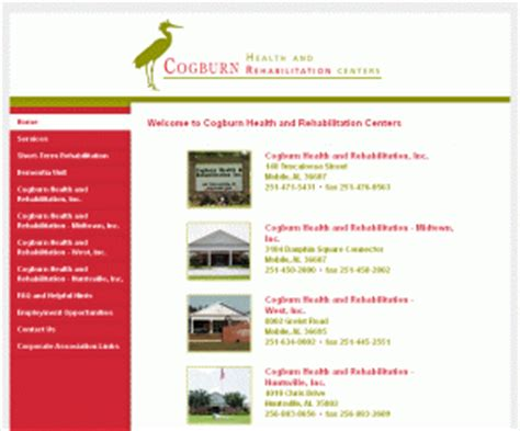Free Detox Programs In Alabama by Cogburnhealth Welcome To Cogburn Health And Rehab