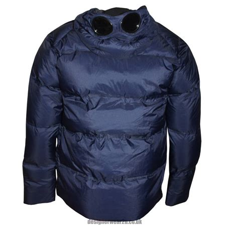 Cp Jaket cp company navy jacket with goggles jackets from designerwear2u uk