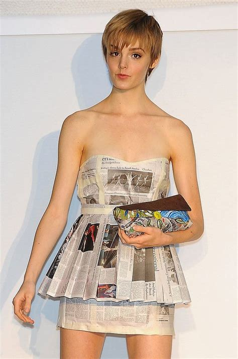 Friendly Dresses Uk - eco friendly dresses made out of newspaper