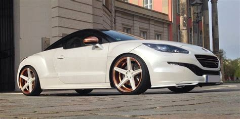 peugeot rcz r modified custom peugeot rcz by mbdesign