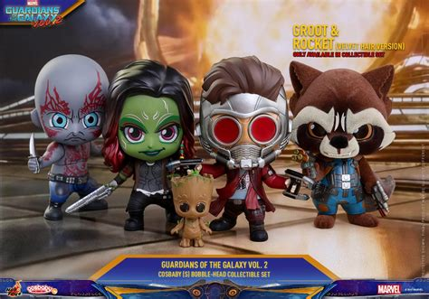 Toys Cosbaby Rocket Raccoon Guardians Of The Galaxy Vol 2 the blot says marvel s guardians of the galaxy vol 2 cosbaby mini figure series by toys