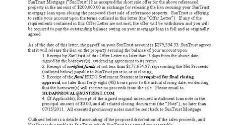 Suntrust Bank Letter Of Credit Suntrust Bank Sale Approval Letter 3909 Penderview Drive Penderbrook Sq Fairfax Va