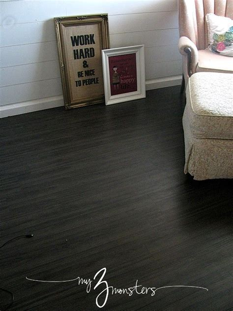 Best 25  Black vinyl flooring ideas on Pinterest   Vinyl