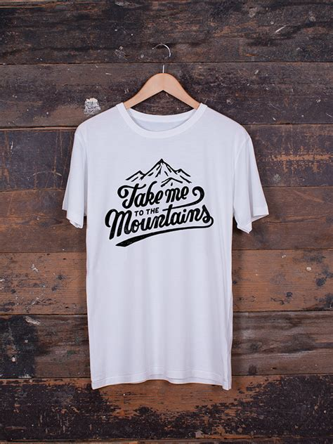 minimalist shirt minimalist t shirt take me to the mountains