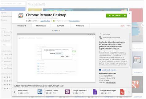 chrome remote desktop anleitung pcs mit chrome remote desktop fernsteuern