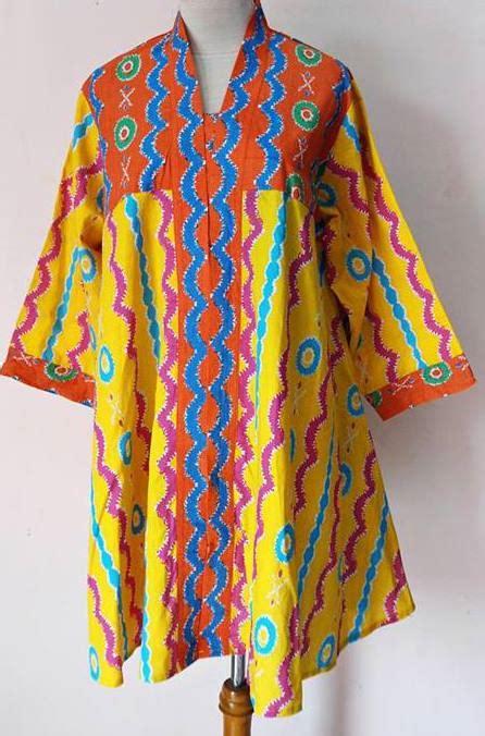 Grosir Murah Baju Osama Top Batik model baju batik wanita blouse scarf blouse top