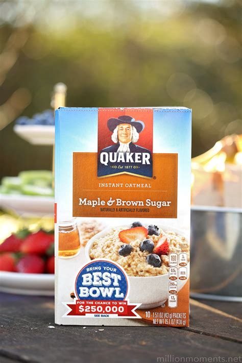 Rise And Shine Oatmeal Bar