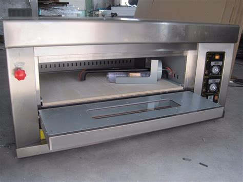 Oven Gas Deck sale sinochef 1 deck 2 trays gas oven pizza oven price buy pizza oven price gas pizza oven