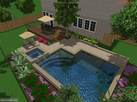 inground pools for small yards small inground pools for small yards austin igp spa