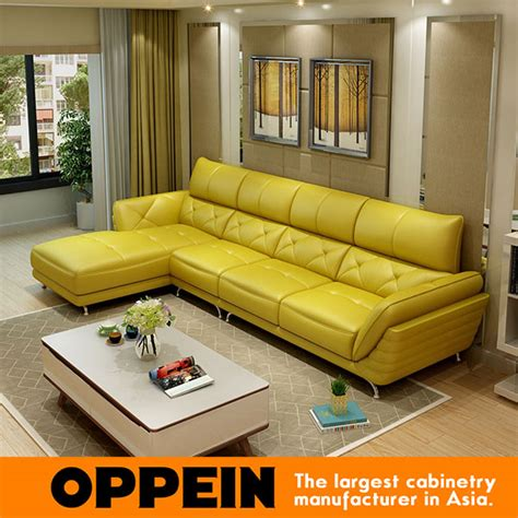 yellow leather sofa set popular yellow leather sectional buy cheap yellow leather