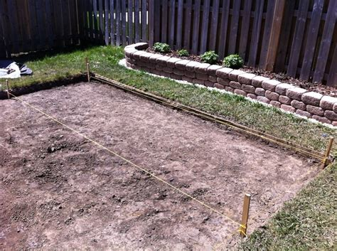 diy paver patio slope patio slope and level diy forums