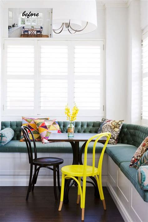 Kitchen Banquette by The Coziness Of A Kitchen Banquette