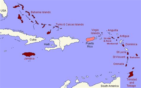 speaking countries in the caribbean survey on in anglophone caribbean repeating islands