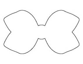 hair bow templates hair bow pattern use the printable outline for crafts creating stencils scrapbooking and