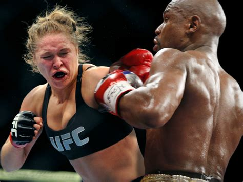 Ufc Mba by Could Ronda Rousey Beat Floyd Mayweather Business Insider