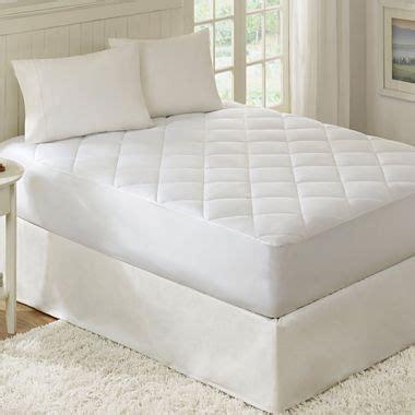 waterproof mattress pad white