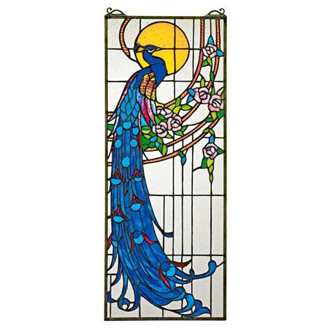 peacock stained glass l 767 best stained glass pea images on pinterest