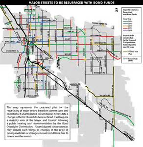 maps tucson arizona bonds for city streets official website of the city of
