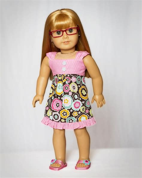 clothes pattern for american girl doll pdf sewing pattern for 18 inch american girl doll clothes
