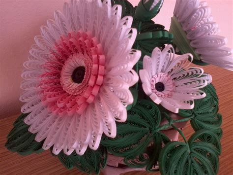 quilling gerbera tutorial quilling my passion quilled gerbera quilling