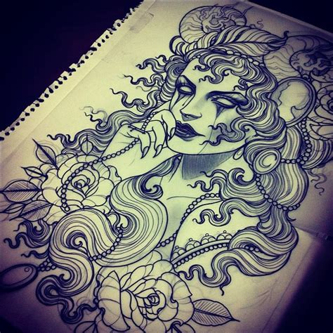 lady rose tattoo one day i will a done by this