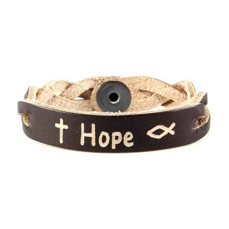 inspirational bracelet personalized leather bracelets