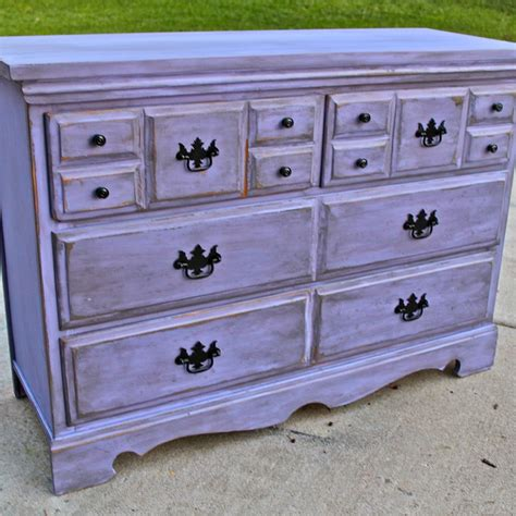Purple Bedroom Chest Lilac Purple Vintage Dresser Products I