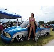 Bagged GMC Sonoma With Bikini Model  Pinterest