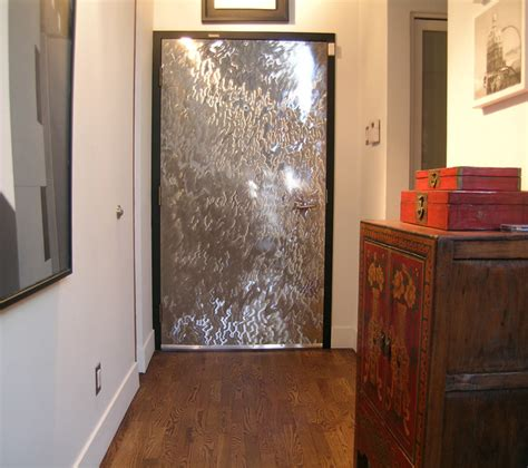 Interior Metal Door Gastown Door Facades Eclectic Interior Doors Vancouver By Gossamer Steel Custom Metal