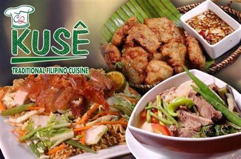 kuse restaurants filipino food promo