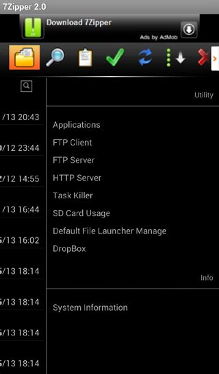 7zipper apk 7zipper 2 0 187 apk thing android apps free