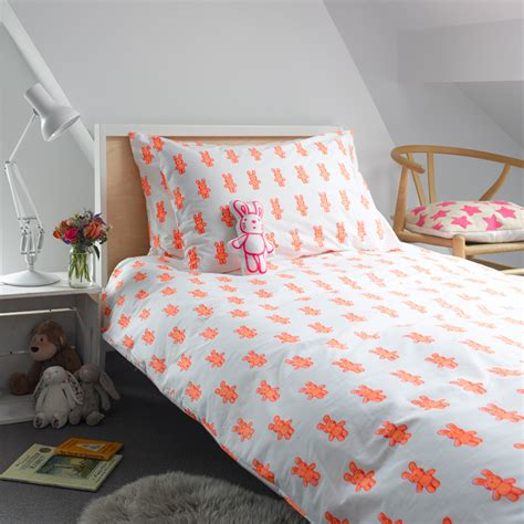 Beglance Cotton Rabbit Bed Sheet bunny rabbit singe duvet cover bedding and patterned