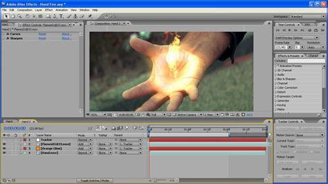 tutorial effect after effect floating fire in your hand tutorial after effects youtube
