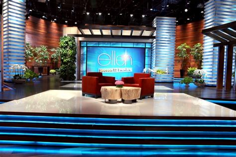 design tv shows the ellen degeneres show set design gallery