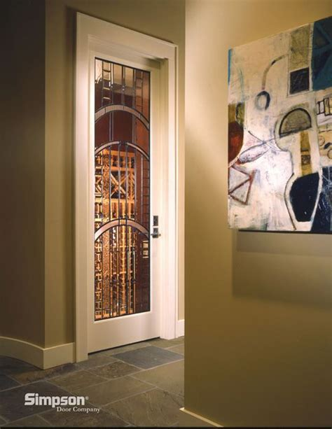 Custom Glass Interior Doors 17 Best Images About Wine Room Doors On Pinterest Traditional Finished Basements And Custom Glass