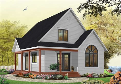country cottage plans country cottage with wrap around porch 21492dr architectural designs house plans