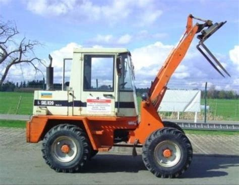 Schaeff Skl 820 Series A Wheel Loader Operation