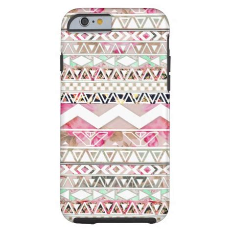 Iphone Iphone 6 Aztec Flowers On Galaxy girly phone covers girly phone cases at phonepizzazz