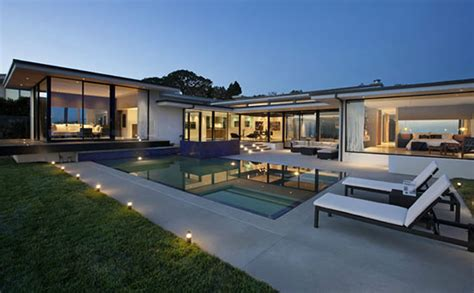 modern and sophisticated home design of cole house by