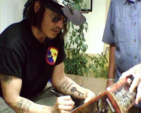 johnny depp tattoo on left arm www johnnydepp zone com the johnny depp zone