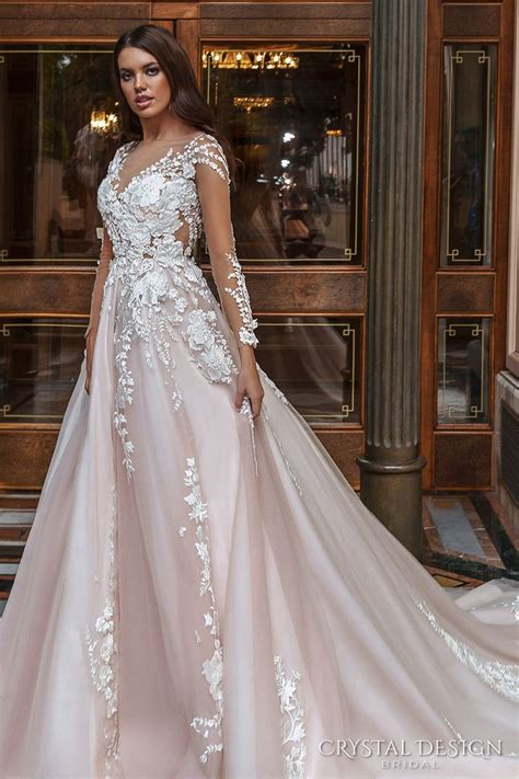 colored wedding gowns 17 best ideas about blush wedding dresses on